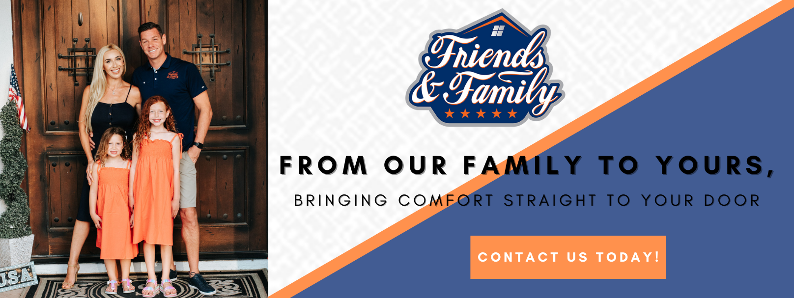 Friend & Family HVAC Contact Us